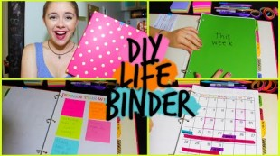 DIY: Life Binder! Organize your Life, Calendar, Work, School +MORE!