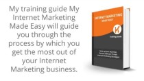What to learn from training guide My Internet Marketing Made Easy?
