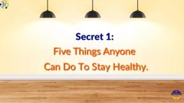 5 Things Everyone Can Do To Be Healthy