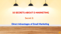Direct Advantages of Email Marketing