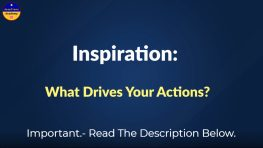 Motivation What Drives My Behavior