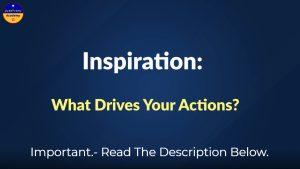 JoseFrancOnline - Motivation What Drives My Behavior