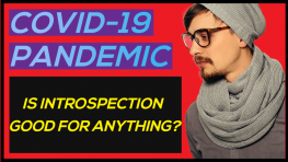 COVID-19 Pandemic – Is Introspection good for anything?