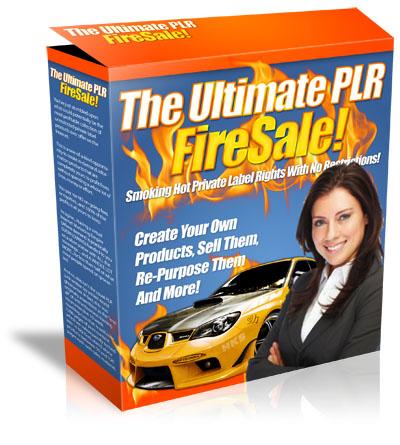 Ultimate PLR Firesale cover